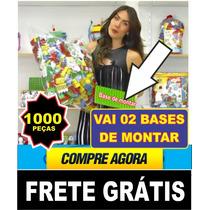 Brinquedos Pedagógicos Infantil  1000 Blocos De Montar