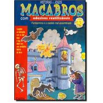 Histórias E Jogos Macabros - Com Adesivos Reutilizaveis