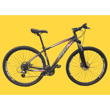 Bicicleta 29 24v Cambios E Freio Hidraulico Shimano E Brinde