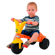 Triciclo Infantil Unisex Girafito - Cor Laranja Com Amarelo
