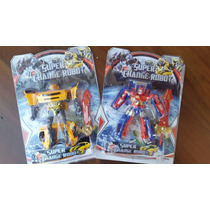 Kit 2 Bonecos Transformers Autobots Bumblebee/ Optimus Prime