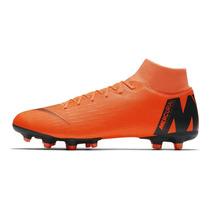 6641d7b882dcf Chuteira Nike Mercurial Superfly 6 Vi Academy Campo Botinha