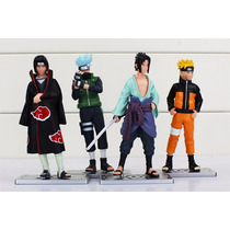 Bonecos Naruto Shippuden Naruto Sasuke Kakashi Hatake Envio!