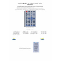 Controle Remoto Dvd Automotivo Napoli 7789 9953 5082 4383 Bt