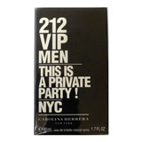 Perfume 212 Vip Men 50ml Original Lacrado