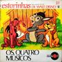 Os Quatro Músicos Compacto Estorinhas Walt Disney 27 Original