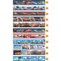 04 Faixas Border Papel Parede Quarto Carros Disney Hotwheels