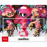 Amiibo Splatoon Octoling Boy Girl E Octopus Pack Switch 3ds