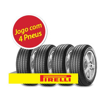 Kit 4 Pneu Aro 17 Pirelli 205/50r17 Cinturato P7 93w