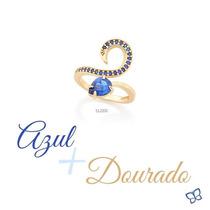 Anel Feminino F. Ouro 18k Espiral Joia Rommanel 512205