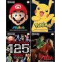 4 Revistas Nintendo World Collection Edições N° 2, 3, 4 E 5