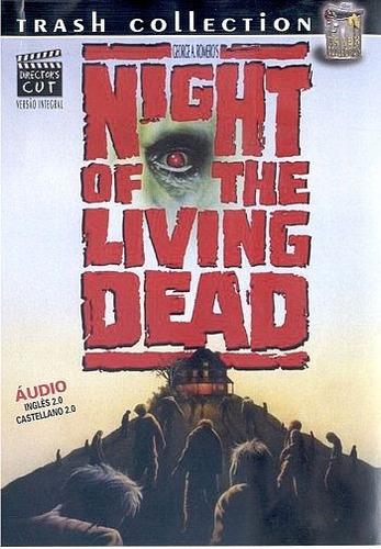 A Noite Dos Mortos Vivos Dvd 1968 Thrash Terror Romero