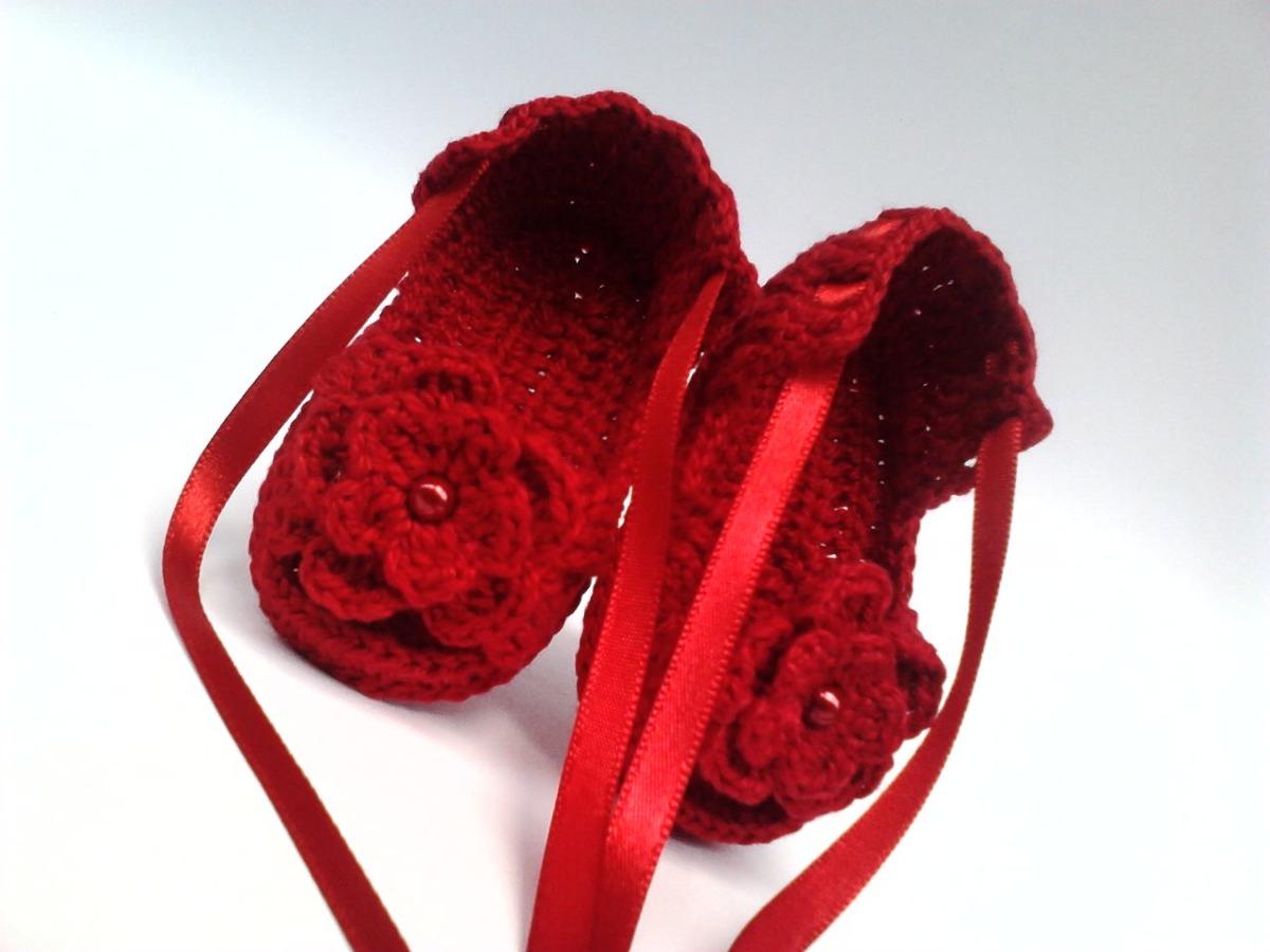 A134 Sapatinho Croche Feminino Vermelho Sandalia Bebe Menina R$ 23  #890E16 1200x900