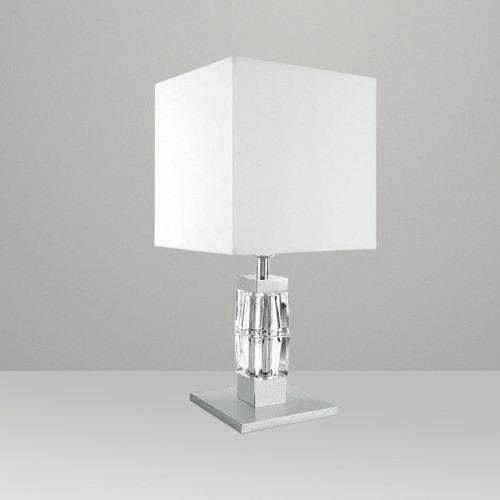 Abajur Quadrado Para Sala Luminária Quarto Lustre R  ~ Abajur Ou Luminaria Para Quarto