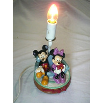 Luminaria Infantil Abajur Mickey Minnie Disney - 220v