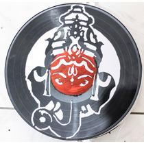 Luminaria Disco De Vinil - Lps - Ganesha Deus Indiano