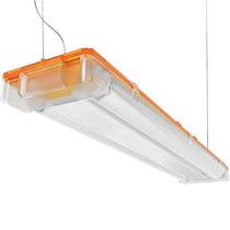 Luminária Sampa C/ Lâmpada Fluorescente Tubular T5 123cm-127