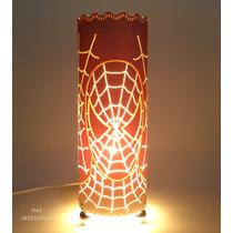 Luminaria Em Pvc Homem Aranha