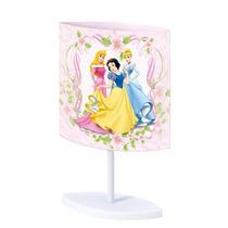 Abajur Oval Bivolt Tubinho Princesas Disney Original Startec