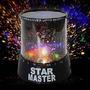 Luminaria Romantic Star Master Abajur Led - Preta + Fonte