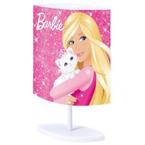 Abajur Oval Barbie Rosa Bivolt Startec
