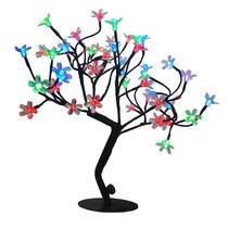 Árvore Flor De Luz Cerejeira Led Coloridos , Natal,decoraçao