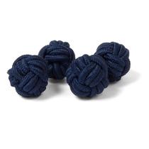 2 Abotoaduras Para Camisa Social Cor Azul Escuro - Casamento