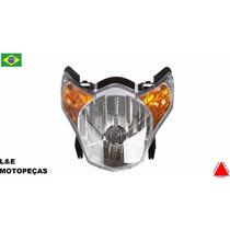 Farol Completo Moto Titan 150 2009/13 Protork
