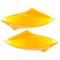 Carenagem Lateral Farol Titan 150 Esd Ex 2012 2013 - Amarelo