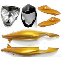 Kit Carenagem Cb 300 Amarelo Perolizado 2009/2011