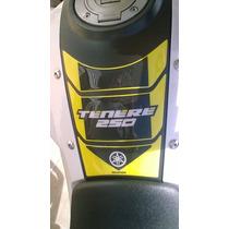 Adesivo Resinado Protetor Tankpad Yamaha Ténéré 250 Amarelo