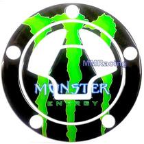 Adesivo Protetor Bocal Tanque Monster Kawasaki Z 750 Z 1000