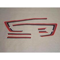 Kit Adesivos Honda Ml 125 1983 A 1984 Vermelha Prata- Decalx