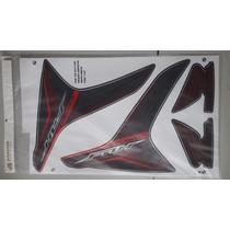 Kit Adesivos Honda Fan 150 2013 Esi Edição Especial Preta