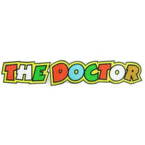 Adesivo The Doctor Valentino Rossi - Grande Resinado