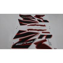 Kit Jogo Adesivos Completo Cbx 250 Twister 2008 Vermelho