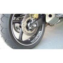 Adesivo Refletivo Honda Racing Cbr Hornet Cb500 Cb600 Cb300