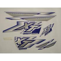 Adesivo Xt225 2000 Azul, Faixa Original Completa