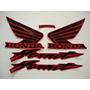 Adesivo Hornet 2005 Vermelha, Faixa Original Completa