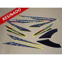 Kit Adesivos Xr 250 Tornado 2008 Amarela - Resinado - Decalx