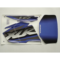 Adesivo Xlr125 2002 Ks Azul, Faixa Original Completa