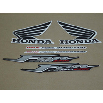 Kit Adesivos Honda Cg Fan 150 Esdi 2011 Cinza - Decalx