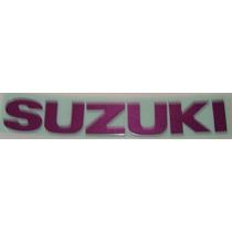 Adesivo Para Moto Suzuki Tanque Comb. Gsx750w 94
