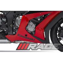 Adesivo Kawasaki Para Ninja Zx-10r Carenagem Inferior O Par
