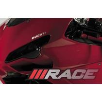 Adesivo Ducati Para Carenagem Frontal Bolha Motos Esportivas