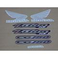 Kit Adesivos Honda Cg Titan 150 Ks 2005 Azul - Decalx