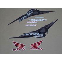 Kit Adesivos Honda Xre 300 2011 Preta - Decalx