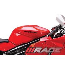 Adesivos Hyosung Para Tanque Moto Comet Gt Ou Gtr Kasinski