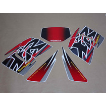 Kit Adesivos Honda Xr 200r 2000 Preta - Decalx