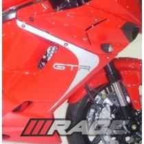 Novo Jogo De Adesivos Para Comet Gtr Moto Carenagem Lateral
